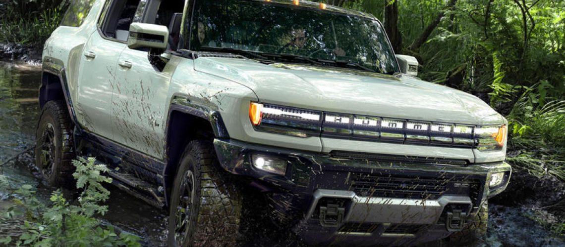 Gmc Suv Hummer EV, più corto del pick-up ne guadagna in estetica e funzionalità