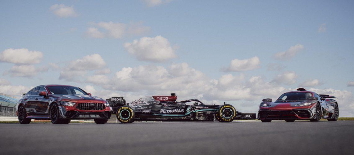 Mercedes-AMG und das Mercedes-AMG Petronas F1 Team intensivieren Zusammenarbeit   Mercedes-AMG and the Mercedes-AMG Petronas F1 Team step up their cooperation