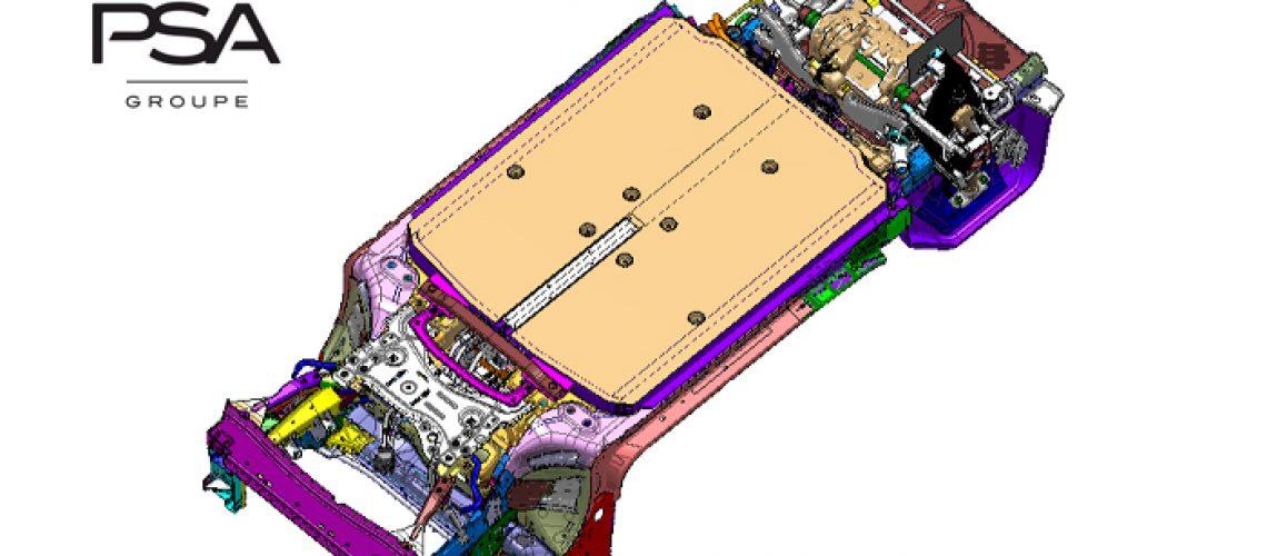 Groupe PSA rafforza la sua offensiva elettrica con una nuova piattaforma eVMP (Electric Vehicle Modular Platform)