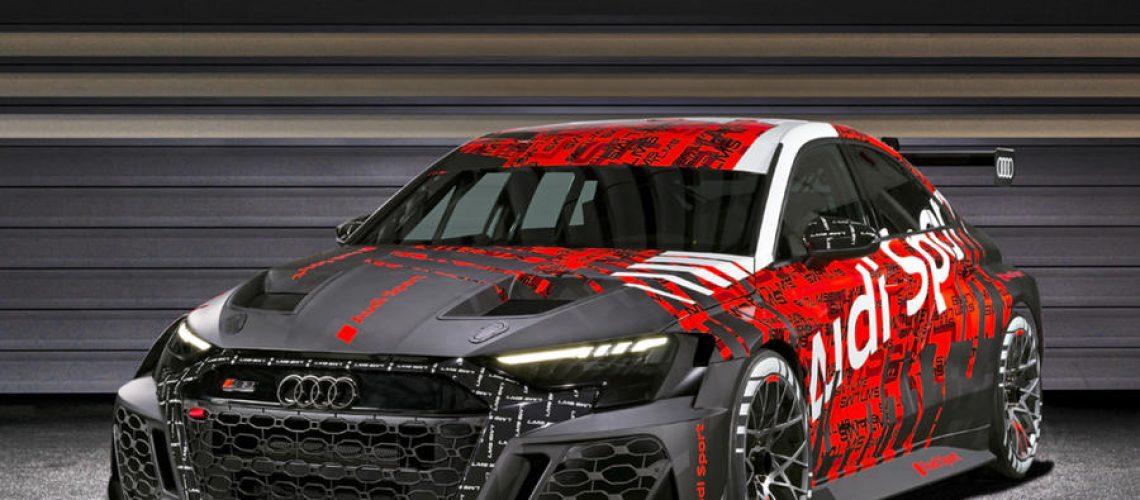 RS 3 LMS, gioello tecnologico Audi derivato dalla RS3 di serie