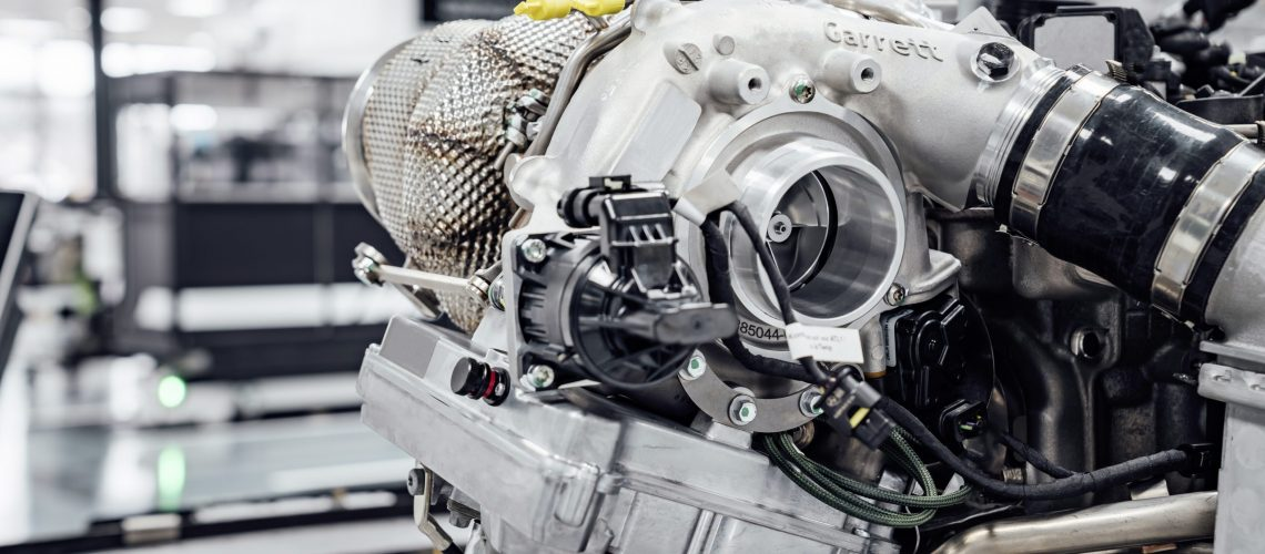 Innovative High Performance Antriebskomponenten made by Mercedes-AMG, elektrifizierter Turbolader   Innovative High Performance drive components made by Mercedes-AMG, electrified turbo charger